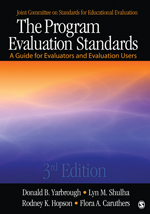 "For more information, check out ""The Program Evaluation Standards"""